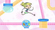 Polly running on hamster wheel S1 Opening