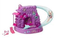 Polly Pocket Fountain Falls Playset Polly