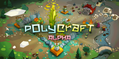 Polycraft splash screen