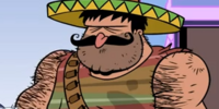 Large Mexican Man