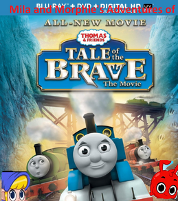Mila and Morphle's Adventures of Thomas and Friends Tale of the Brave