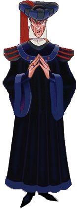 Judge Claude Frollo-The Hunchback of Notre Dame
