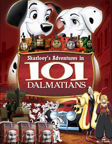 File:Skarloey's Adventures in 101 Dalmatians Poster.png
