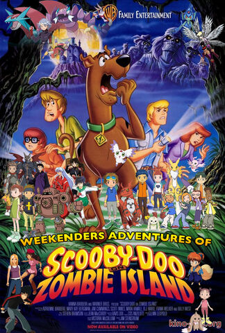 File:Weekenders Adventures of Scooby-Doo on Zombie Island (Remake) Poster 2.jpg