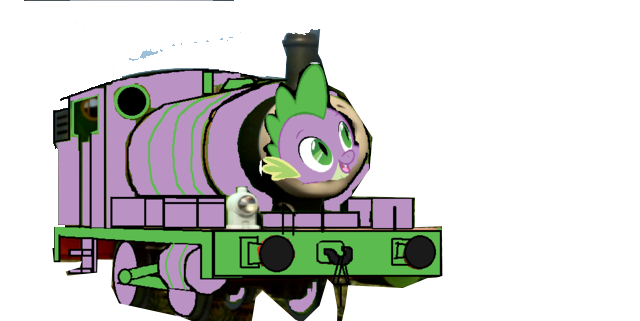 File:MLP Spike as a Thomas character.png