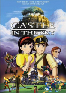 Sora Sees The Castle In The Sky Poster