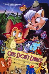 Simba, Timon, and Pumbaa's Adventures of Cats Don't Dance poster