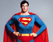 Superman's classic pose