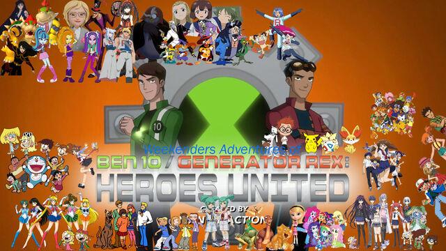 File:Weekenders Adventures of Ben 10 Generator Rex- Heroes United.jpg