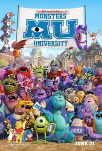 Pooh's Adventures of Monsters University poster