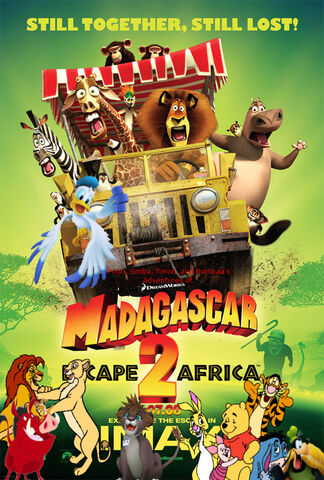 File:Pooh, Simba, Timon, and Pumbaa's Adventures of Madagascar Escape 2 Africa poster.jpg