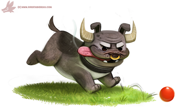 File:Daily paint 1088 bulldog by cryptid creations-d9glpcz.png