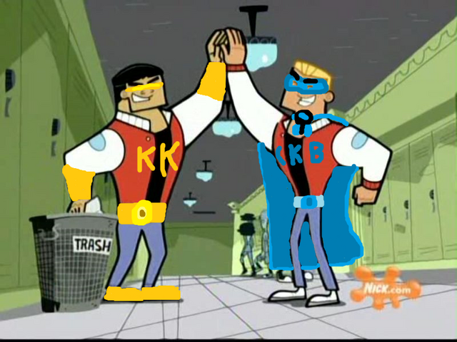 File:Kwick Kwad and Captain Kick Butt teaming up to use their powers for good.png