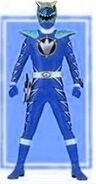 Indigo Dino Thunder Ranger