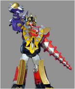 Thundersaurus Megazord Cephala Power Punch