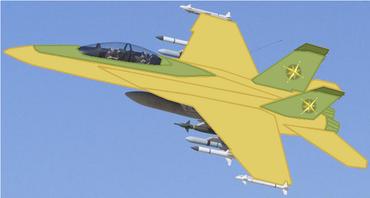 F-18 Daring Flight