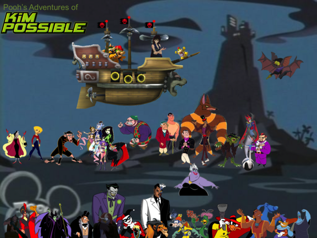 File:Pooh's Adventures of Kim Possible Villains Poster 3.png