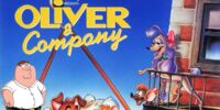 Brian and the Eeveelution Family's Adventures of Oliver & Company