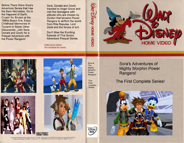 File:Sora's Adventure of Mighty Morphin Power Rangers (DVD Case).png