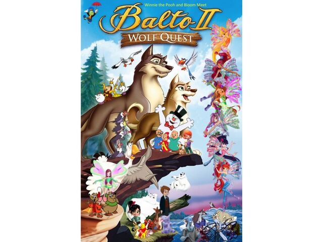 File:Winnie the Pooh and Bloom Meet Balto II Wolf Quest Poster (Remake).jpg