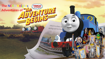 Lego NEXO Knights Adventures of Thomas and Friends The Adventure Begins