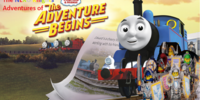 LEGO NEXO Knights' Adventures of Thomas and Friends: The Adventure Begins