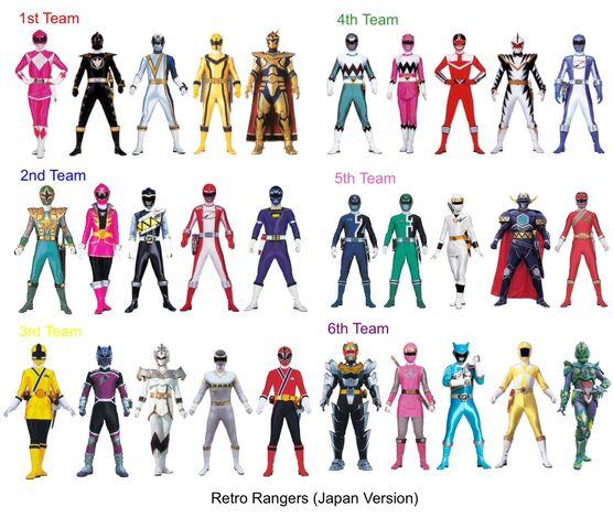 File:Retro Rangers (Sentai Ver).jpeg