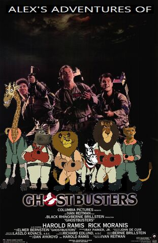 File:Alex's Adventures of Ghostbusters poster.jpg