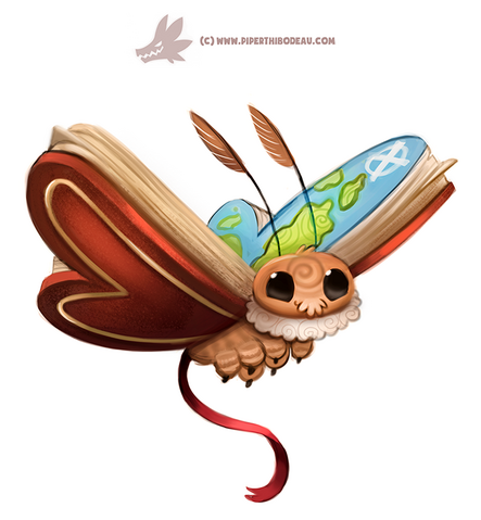 File:Daily paint 1302 atlas moth by cryptid creations-da6eqg6.png