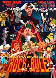 Pooh's Adventures of Rock and Rule Poster (version 2)