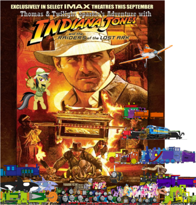 Thomas and Twilight's Adventure with Indiana Jones and the Raiders of the Ark II