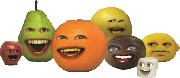 File:Annoying Orange characters.png