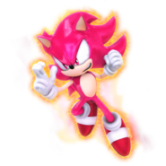 What if sonic as super saiyan red by nibroc rock-db3baqu