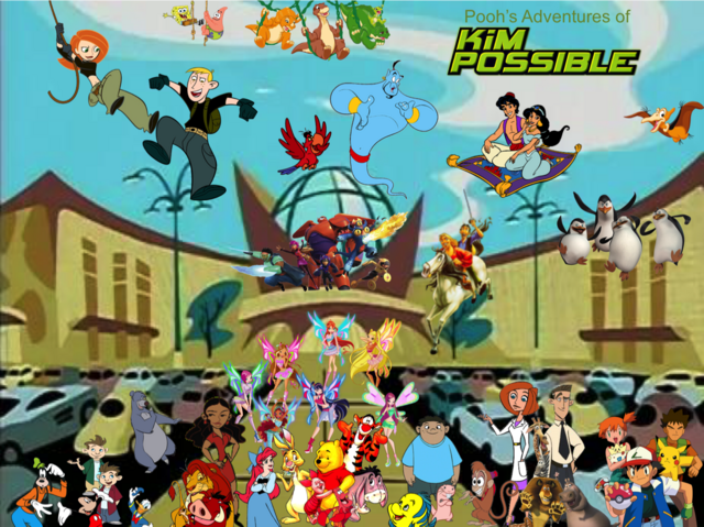File:Pooh's Adventures of Kim Possible Season 1 Poster (Speedix).png