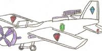 Rarity's jem plane