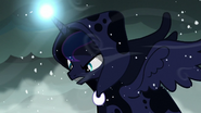 Princess Luna as the Spirit of Hearth's Warming Yet to Come