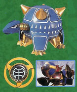 Turtle Mace and Power Disc
