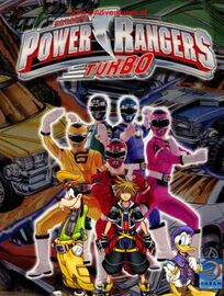 Sora's Adventures of Power Rangers Turbo poster