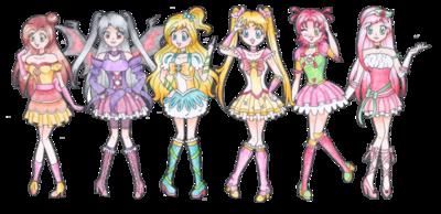 Secret pretty cure heart club by darlychan-d5bd1hu