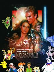 Pooh's Adventures of Star Wars Episode II Attack of the Clones Poster