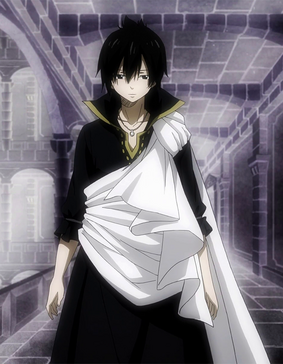 Zeref appears at Tartaros' HQ