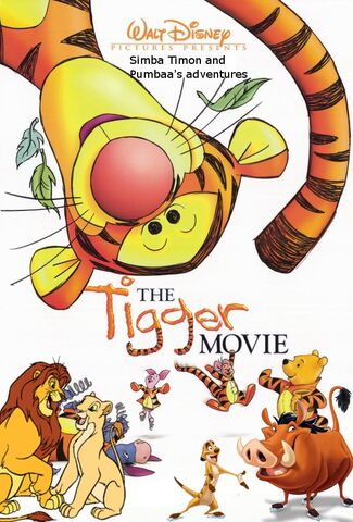 File:Simba Timon and Pumbaa's adventures of The Tigger Movie Poster.jpg