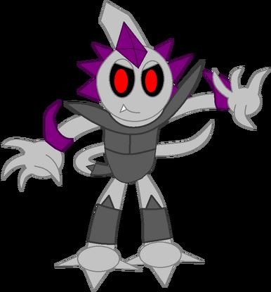 Chaos Emerl (Dark Digi-Armor)