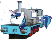 MLP Shining Armor as Thomas charater