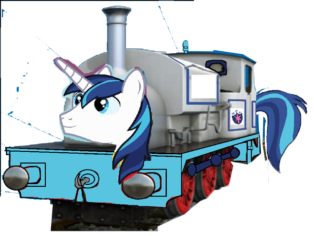 File:MLP Shining Armor as Thomas charater.png