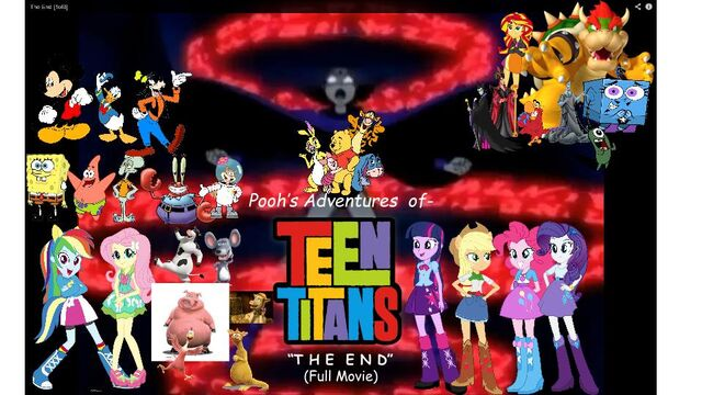 File:Pooh's Adventures of Teen Titans The End (Full Movie) Poster.jpg
