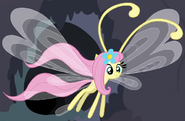 Fluttershy as a Breezie