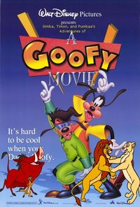 Simba, Timon, and Pumbaa's Adventures of A Goofy movie poster