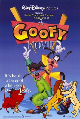 File:Simba, Timon, and Pumbaa's Adventures of A Goofy movie poster.jpg