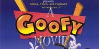 Simba, Timon, and Pumbaa's Adventures of A Goofy Movie